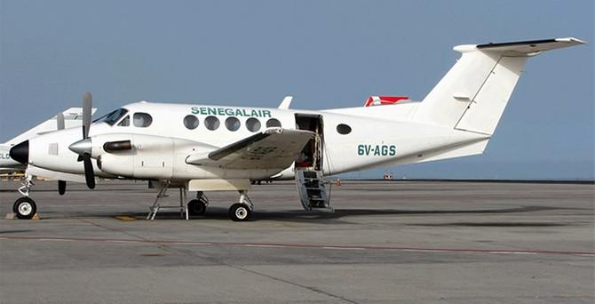 Senegal'de 7 kişi taşıyan uçak kayboldu