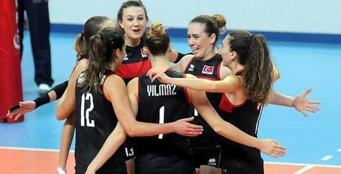 Kadınlar Voleybol Takımı finalde!