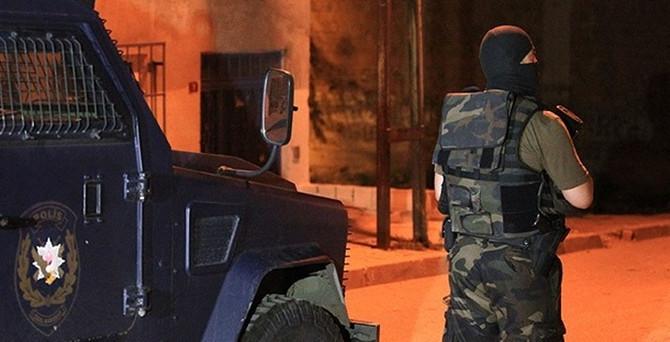 Şanlıurfa'da terör  operasyonu: 24 gözaltı