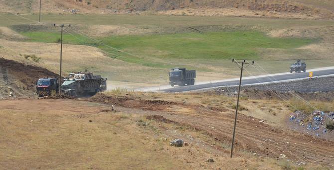 Dağlıca'da operasyonlar sürüyor