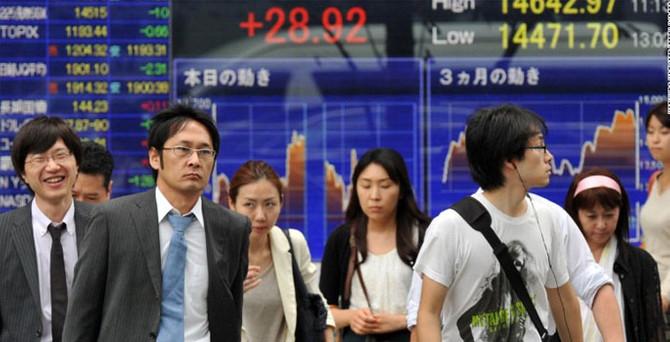 Japonya, piyasa oynaklığına dikkat çekti