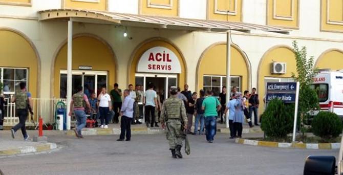Dargeçit'te saldırı: 1 polis şehit