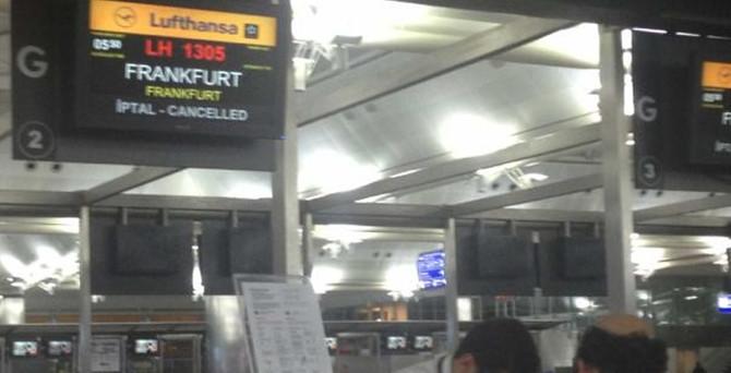 Lufthansa'daki grevden Türkiye de etkilendi