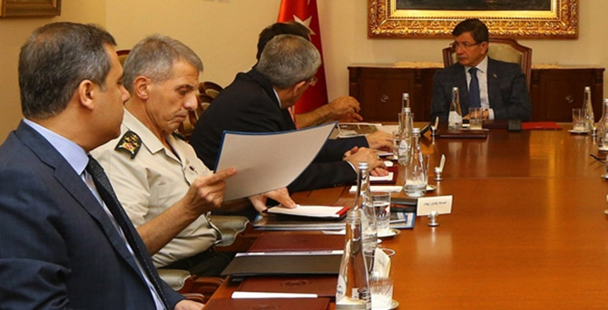 Başbakanlık'ta dörtlü toplantı