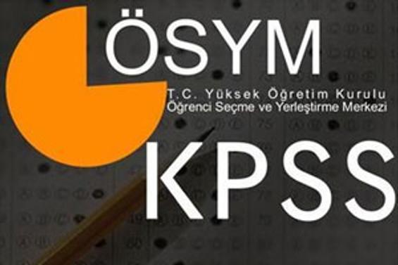 KPSS soru kitapçıkları erişime açıldı