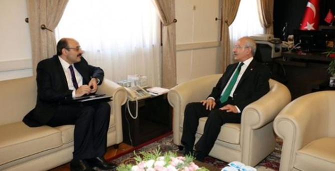 Kılıçdaroğlu, YÖK Başkanı Saraç ile görüştü