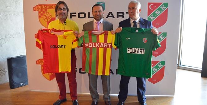 Göztepe'nin forma sponsoru Folkart