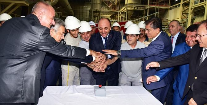 Ege Seramik, 46 milyon TL'lik çevreci tesis yatırımı yaptı