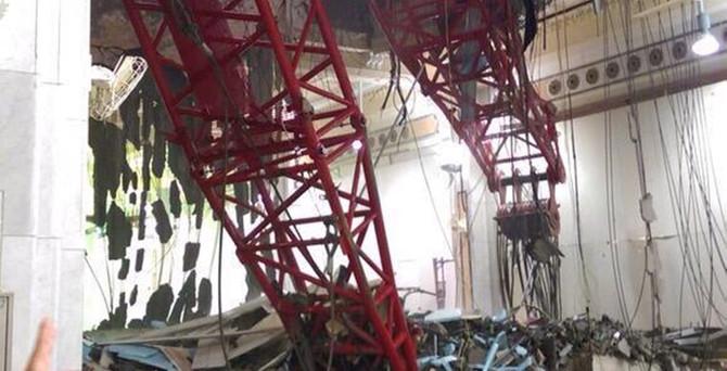 Kabe'de vinç faciası:  107 ölü, 238 yaralı