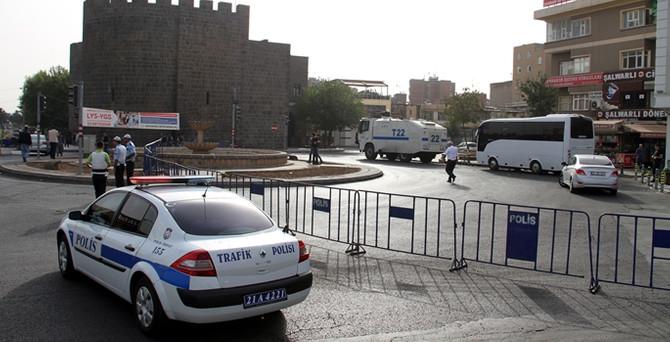 Diyarbakır'da terör örgütü operasyonu