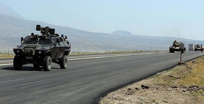 Hudut birliğine taciz ateşi: 1 asker yaralı