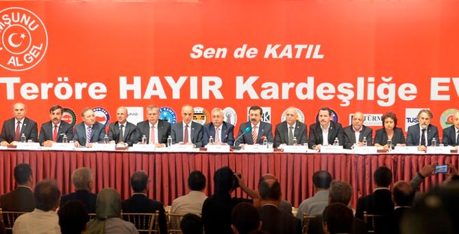 STK'lardan çağrı: 17 Eylül'de herkes Sıhhiye'ye
