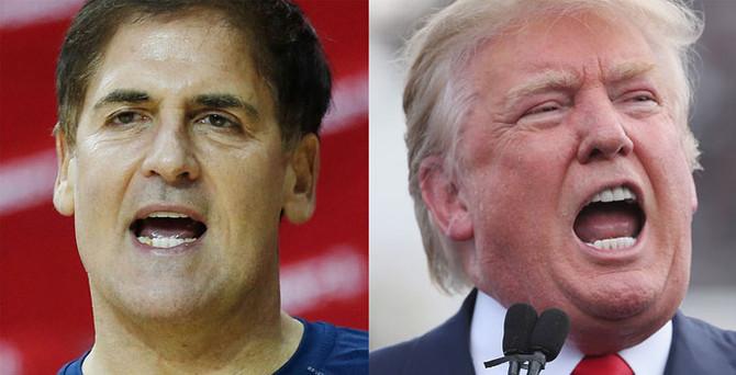 Cuban: Trump'ı ezer geçerdim