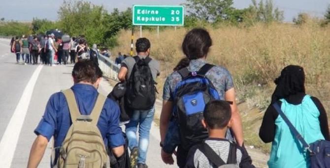 800 sığınmacı açlık grevi başlattı