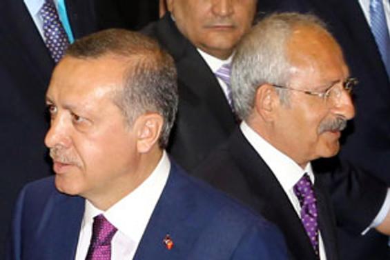 Erdoğan ve Kılıçdaroğlu kayıt yaptırdı