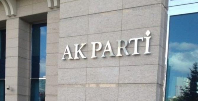 AK Parti'nin aday listesi