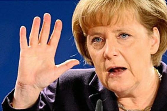Merkel'den Derviş'e veto