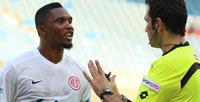 Eto'olu Antalyaspor hezimete uğradı