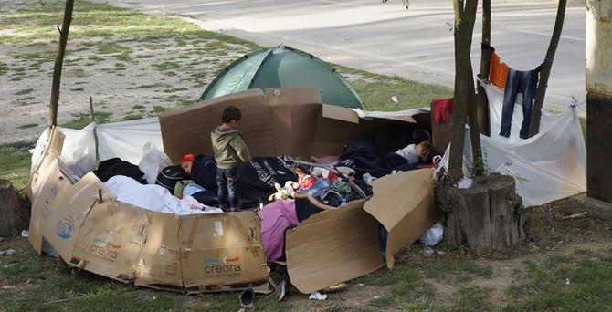 Edirne'deki sığınmacıların bekleyişi sürüyor