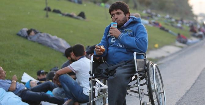 Suriyeliler TEM'de durduruldu