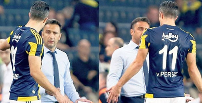 Fenerbahçe'de Van Persie-Pereira gerginliği