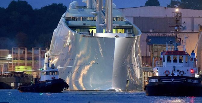 Dünyanın en büyük yatı: Superyacht 'A'