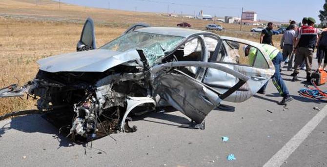 Sorgun'da korkunç kaza: 4 ölü 3 yaralı