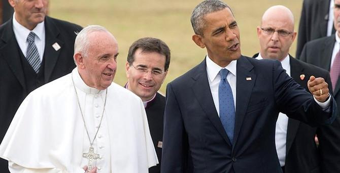 Papa ve Obama'dan 'iklim değişikliği' çağrısı