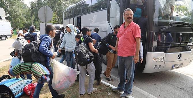 Edirne'deki sığınmacıların bekleyişi sona erdi