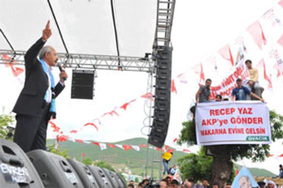 AKP, faili meçhul önergelerini reddetti