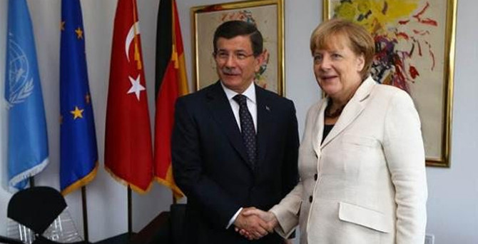 Davutoğlu, Merkel ABD'de görüştü
