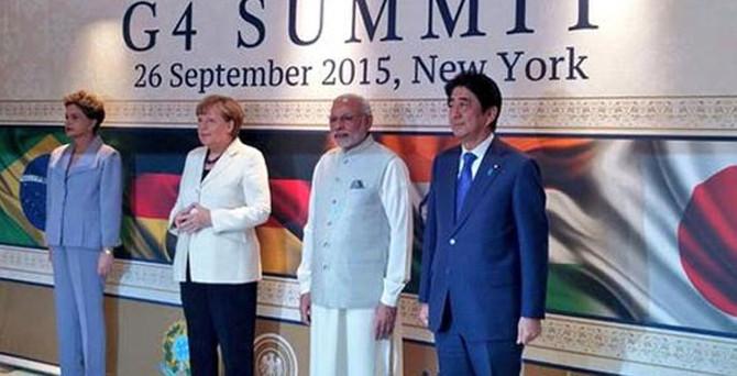 G4 ülkelerinden ortak açıklama