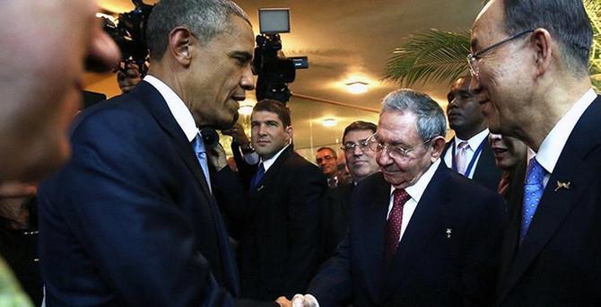 Obama ile Castro görüşecek