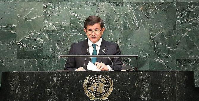 Davutoğlu: Sürdürülebilir kalkınma barış ve güvenlik olmadan olamaz