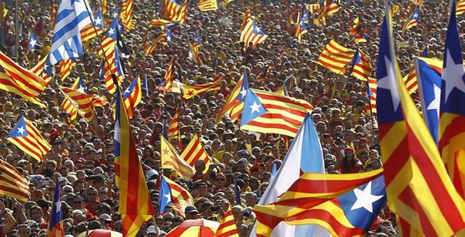 Katalonya'da bağımsızlık yanlıları kazandı