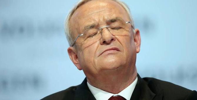 Volkwagen'ın eski CEO'suna soruşturma