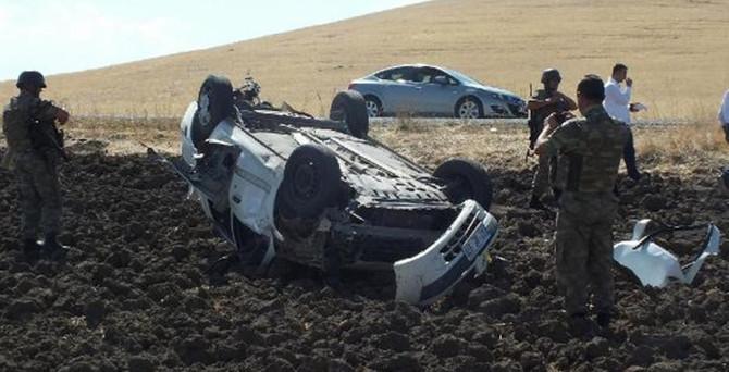 Malazgirt'te feci kaza: 4 ölü, 3 yaralı