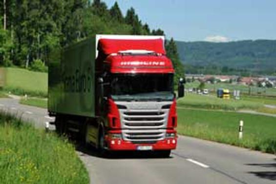 Scania'nın Euro 6 motorları görücüye çıktı
