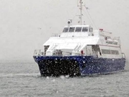 Deniz ulaşımına tipi engeli