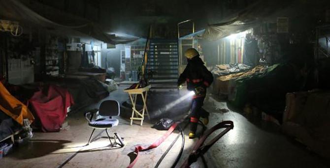 Tarihi Kapalıçarşı'da yangın paniği