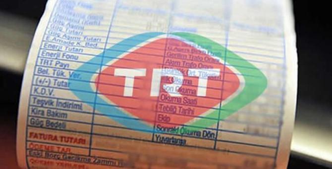 Elektrikte TRT payına yüzde 15 tırpan