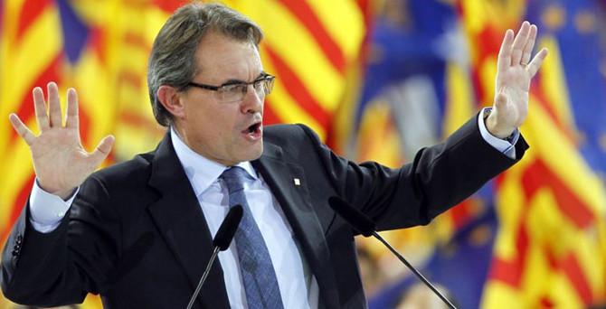 Katalan lidere 'bağımsızlık' davası