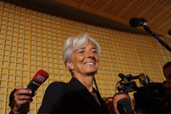 Beklenen oldu, Lagarde adaylığını açıkladı