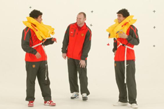 Manchester United bu kez THY için oynadı