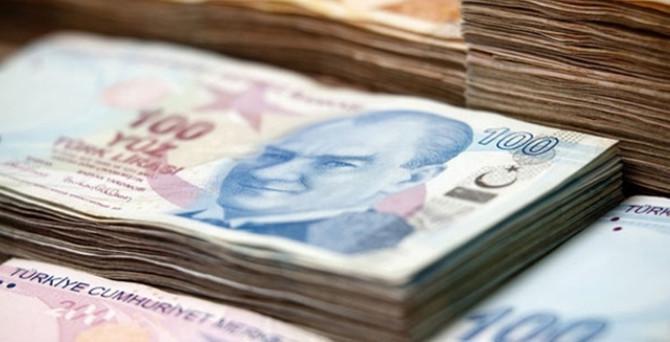 Hazine 1,3 milyar lira borçlandı