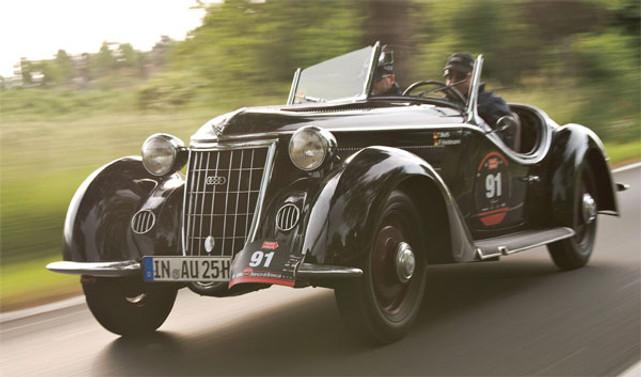 Bir tutkudur klasik otomobil