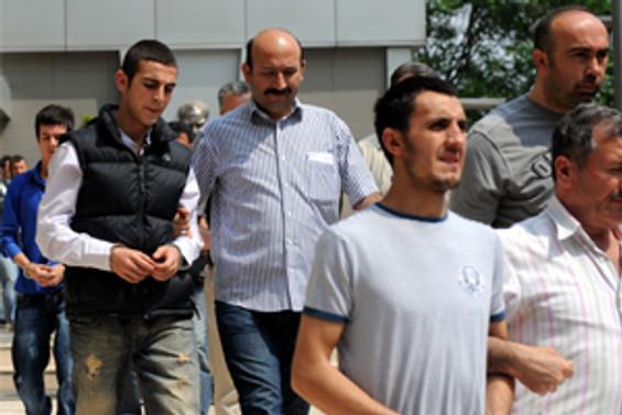 Bursa'da 26 kişi daha gözaltında