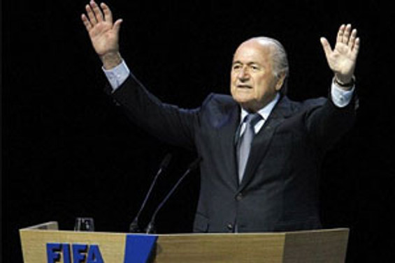 Blatter'den Rusya'ya övgü