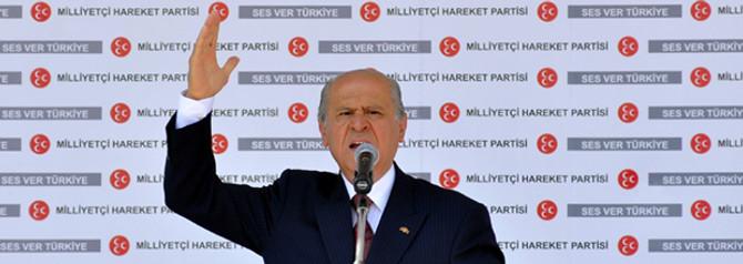 Bahçeli'den Erdoğan'a  sert sözler