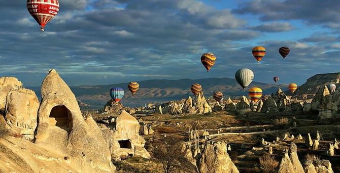 Kapadokya'ya 'havadan' 100 milyon euro